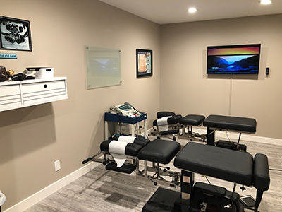 Chiropractic Brentwood CA Babcock Chiropractic & Wellness Center Treatment Room